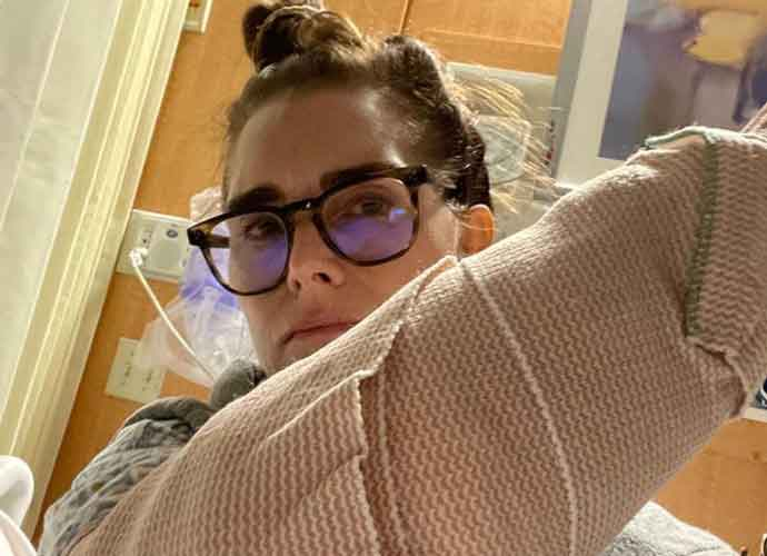 Brooke Shields Shares Photos From Her Harrowing Fitness Accident