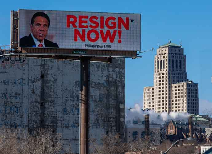 Billboard In Albany, N.Y. Calls On Gov. Andrew Cuomo To Resign After Sexual Harassment Accusations