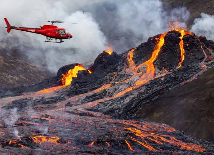 Mount Fagradalsfjall Volcano Erupts In Iceland After 800 Years Of Dormancy