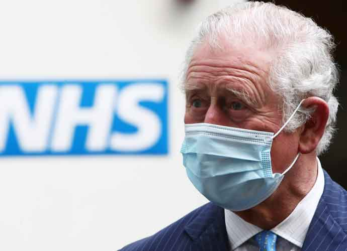 Prince Charles Refuses To Answer Questions About Harry & Meghan While Visiting COVID-19 Vaccine Clinic