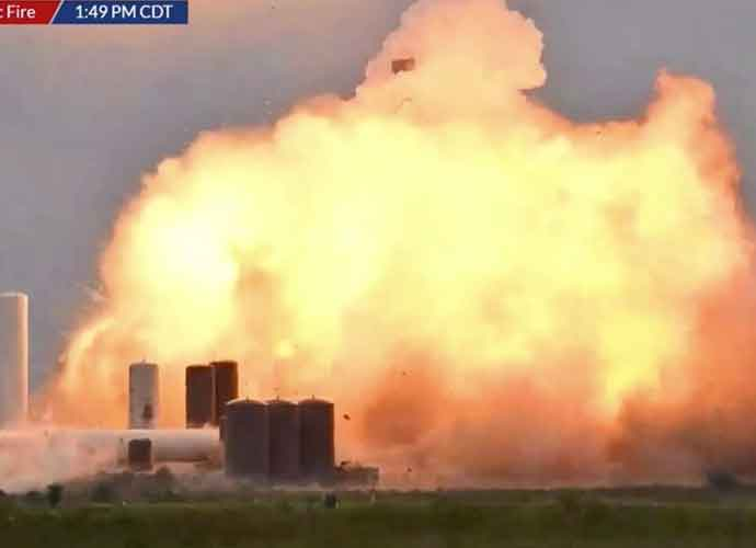 WATCH: SpaceX Starship Prototype Explodes After Successfully Landing