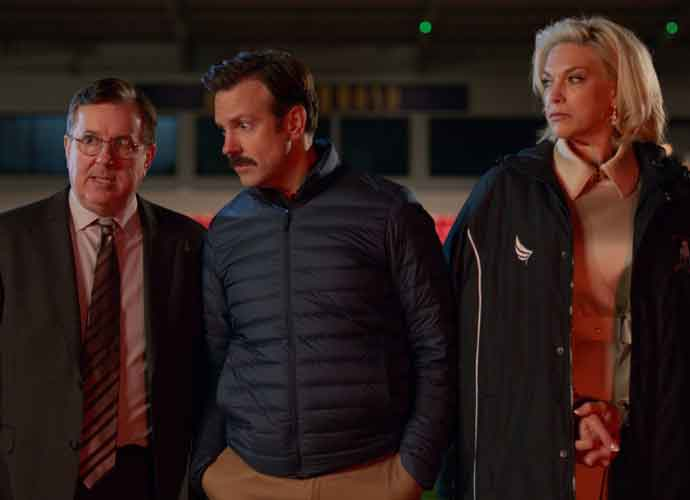 VIDEO EXCLUSIVE: Ted Lasso's Jeremy Swift & Bill Lawrence Reveal Favorite Jason Sudeikis Moments