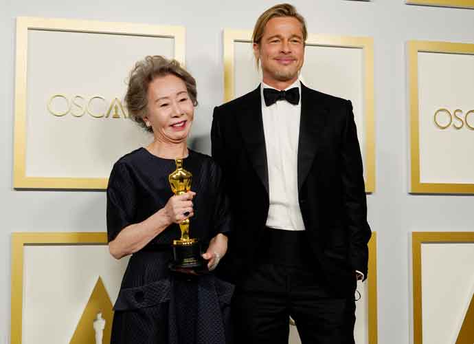 Yuh-Jung Youn Swoons Over Brad Pitt After Winning Best Supporting Actress