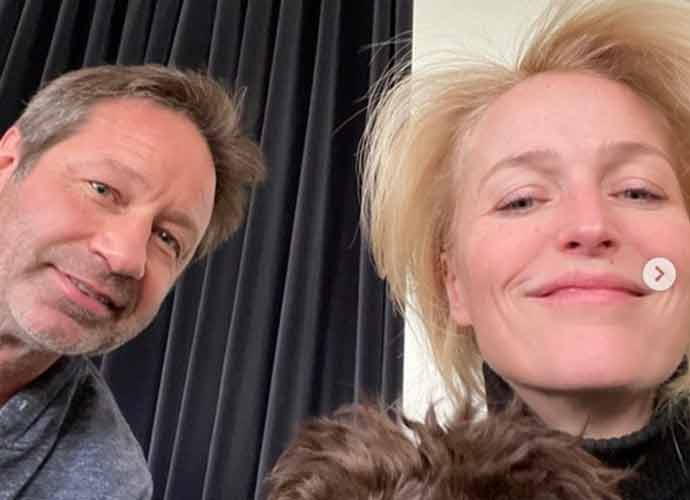 Gillian Anderson & David Duchovny Have An 'X-Files' Reunion
