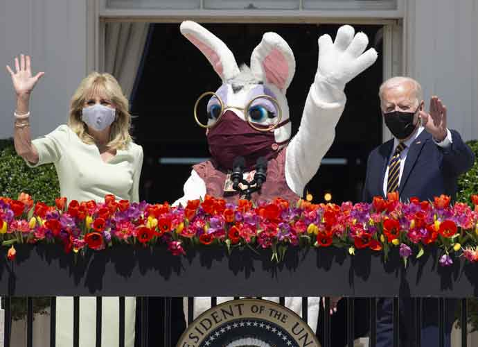 Joe & Jill Biden Host The Easter Bunny At The White House!