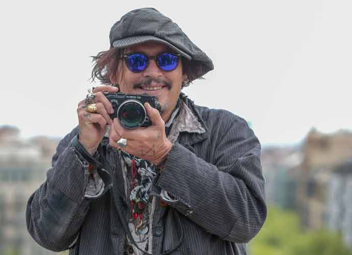 Johnny Depp Promotes New Film 'Minamata' In Barcelona