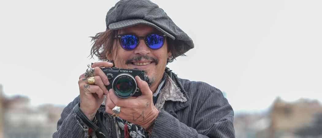 Johnny Depp Promotes New Film 'Minamata' In Barcelona
