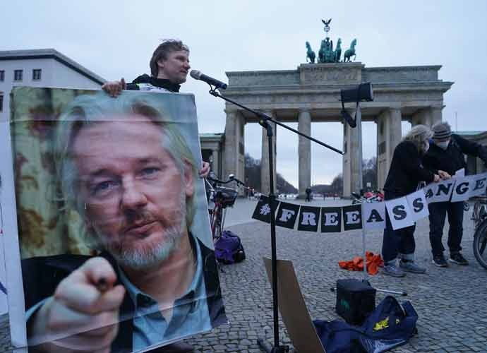 Protesters March For Julian Assange's Freedom