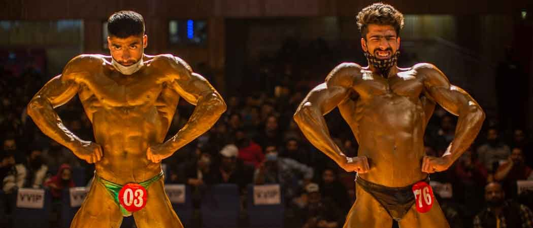 Kashmiri Bodybuilders Compete To Be Mr. Srinagar