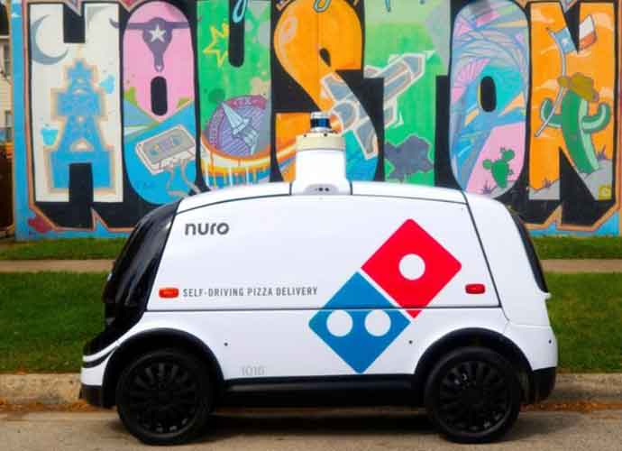 Domino's Pizza Launches Self-Driving Robot-Car To Deliver Pizzas In Houston