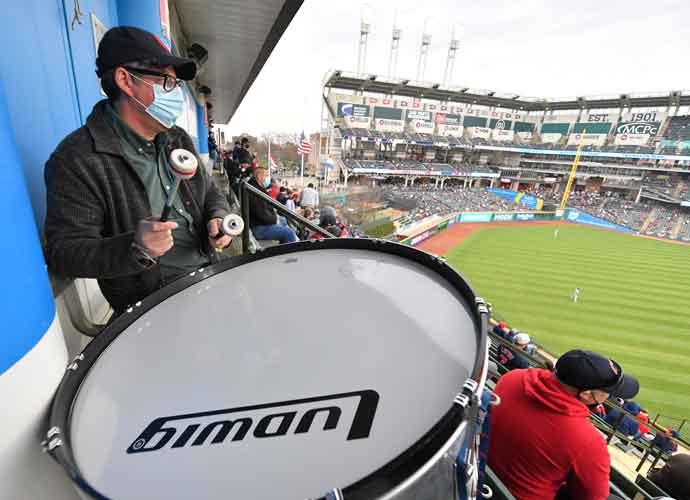 The Black Keys' Patrick Carney Fills In As Cleveland Indians' Drummer