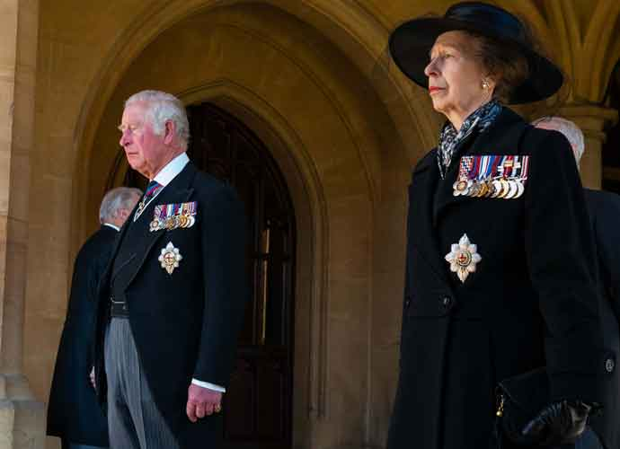 Princess Anne Walks As The Only Women In Her Father's Funeral Procession