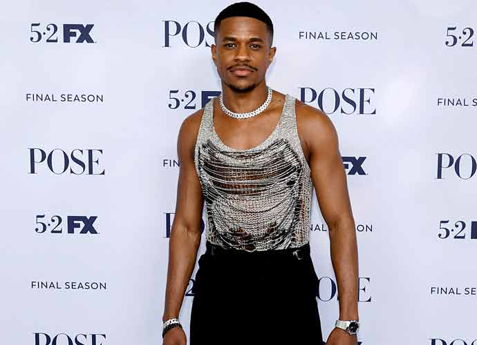 Jeremy Pope Wows At Season 3 Premiere Of 'Pose'