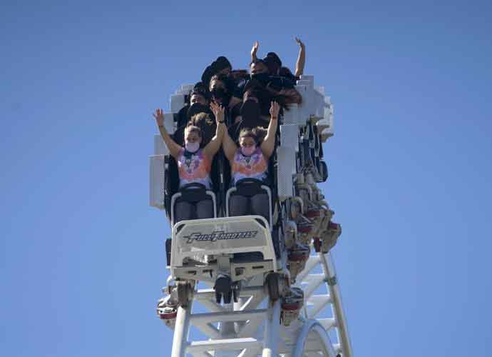 Six Flags California Parks Reopen With COVID-19 Safety Measures