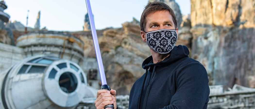 Tom Brady Visits 'Star Wars: Galaxy's Edge' At Disney World