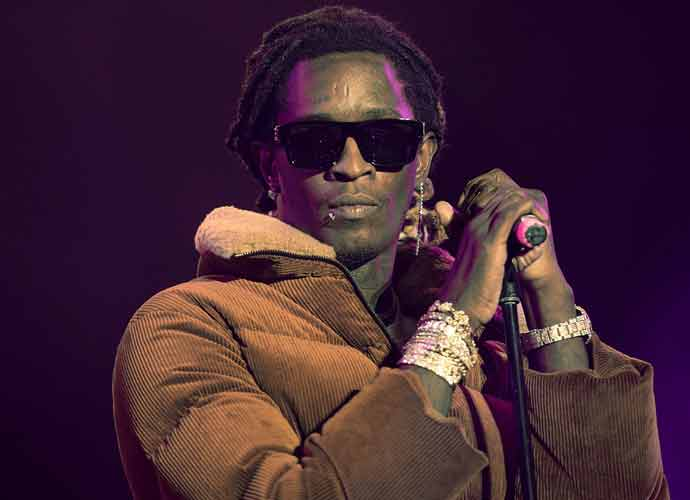 Rapper Young Thug Pays Off Inmates' Bonds In Georgia Jail