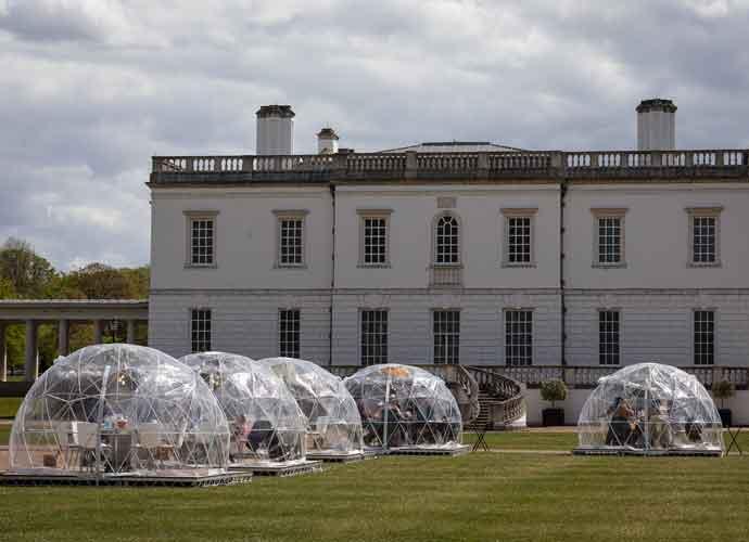 'Bridgerton' Filming Location Transformed Into Dining Domes Pop Up