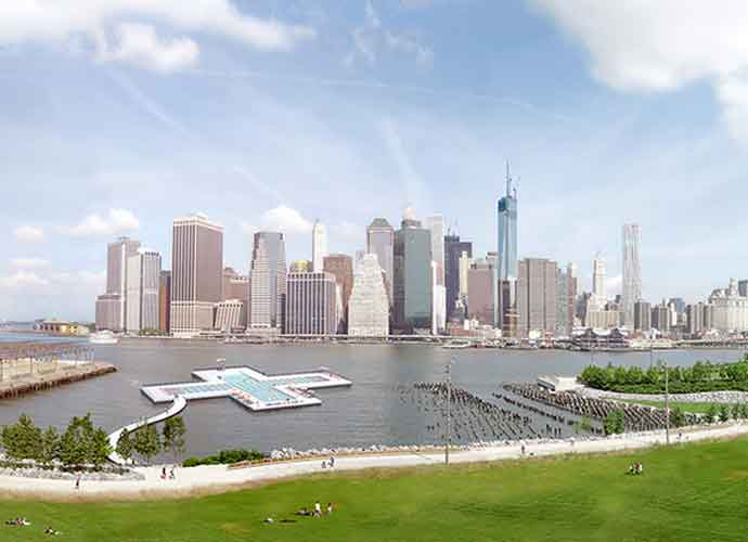Floating Cross-Shaped Pool NYC's East River Moves Closer To Reality
