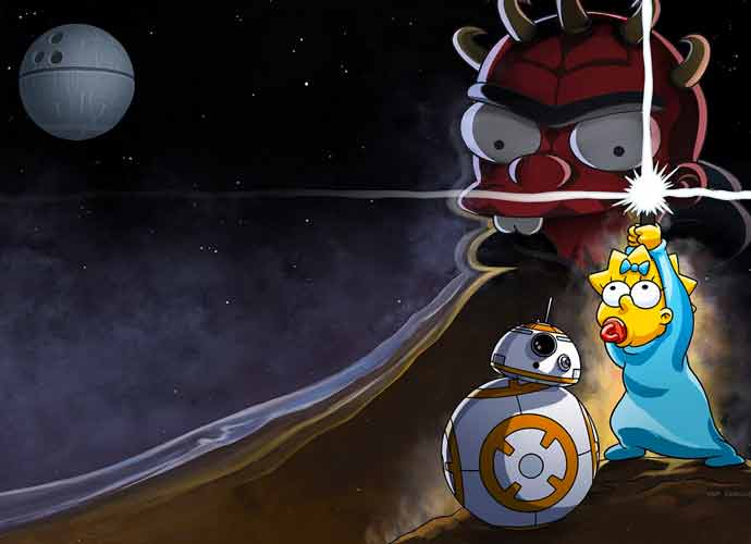 Disney+ Celebrates 'Star Wars' Day With 'Simpsons' Crossover Short
