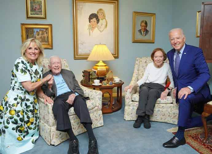 Jimmy Carter & Rosalynn Carter Celebrate 75th Anniversary Of Marriage