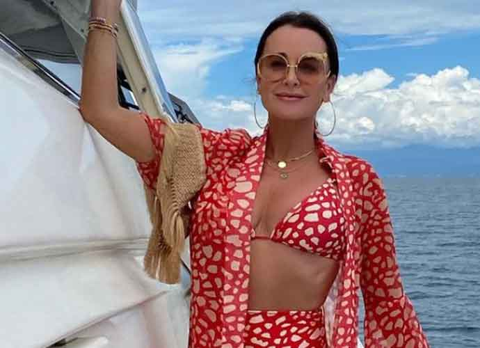 Kyle Richards Goes To Hospital After Walking Into A Beehive