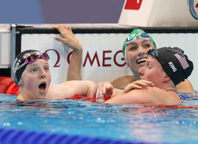 Lydia Jacoby Becomes First Alaskan Swimmer To Win Olympic Gold, Fans In Hometown Go Wild