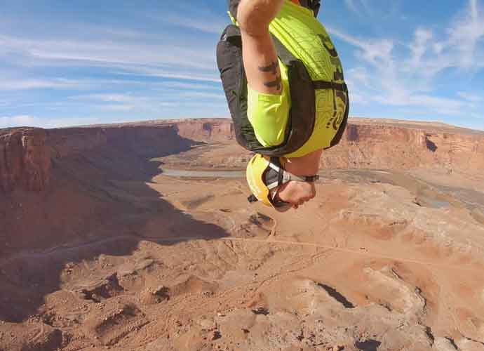 VIDEO EXCLUSIVE: BASE Jumping Skier Matthias Giraud Reveals His Thoughts In The Air