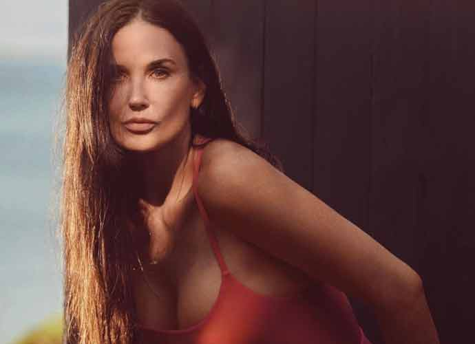 Demi Moore, 58, Stuns In New 'Red Hot' Swimsuit