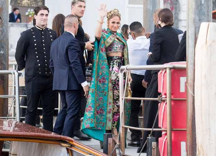 Jennifer Lopez Wows Dolce & Gabbana Event In Venice