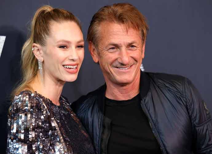Sean Penn & Daughter Dylan Penn Pose At 'Flag Day' Screening