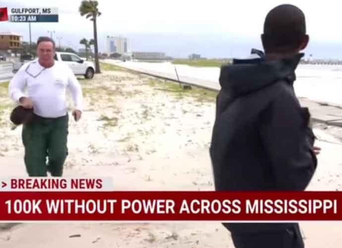 Arrest Warrant Issued For Benjamin Dagley Who Disrupted MSNBC During Hurricane Ida Broadcast