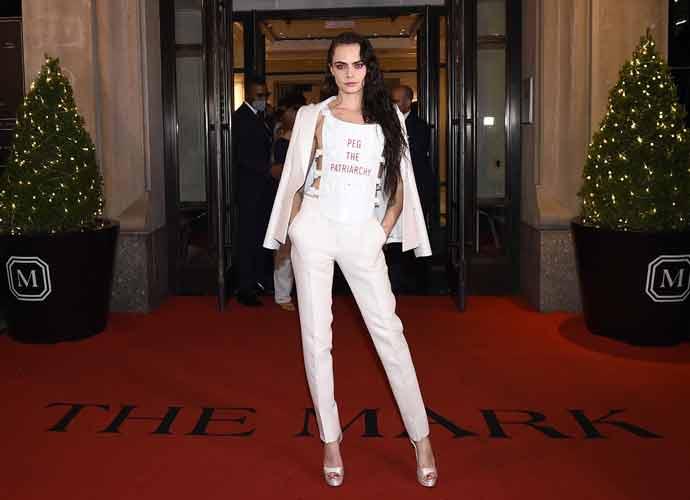 Cara Delevingne's Met Gala 'Peg the Patriarchy' Look Was Stolen, Teacher Says