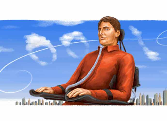Christopher Reeve Honored With A Google Doodle