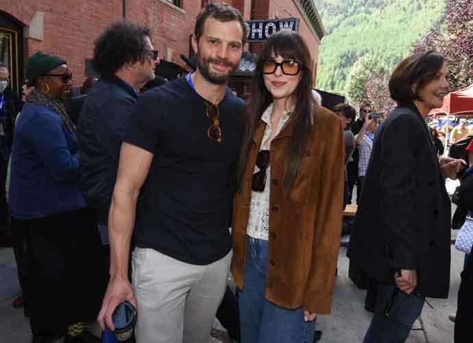 Dakota Johnson & Jamie Dornan From '50 Shades Of Gray' Reunited