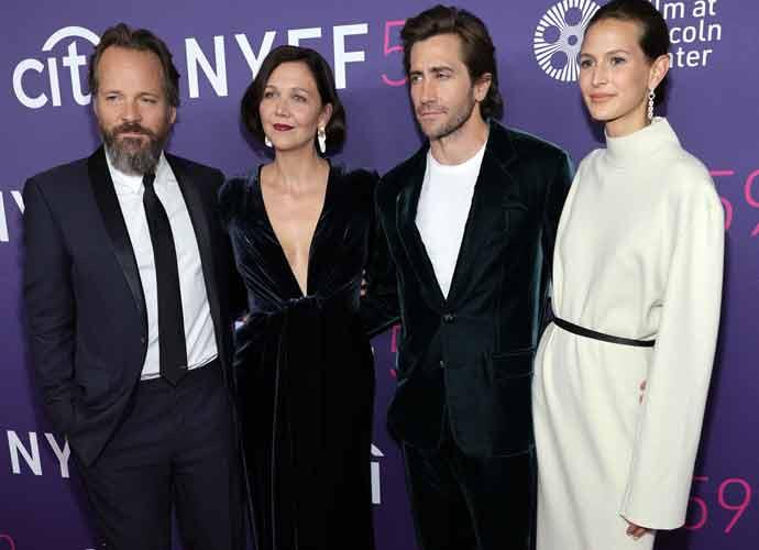 Jake Gyllenhaal & Girlfriend Jeanne Cadieu Make Their Red Carpet Debut At Sister Maggie's Premiere