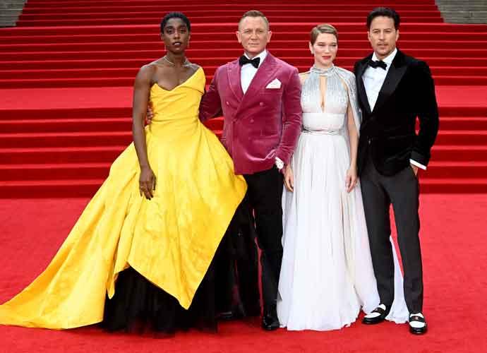 Daniel Craig Attends Premiere Of Last James Bond Film, 'No Time To Die'