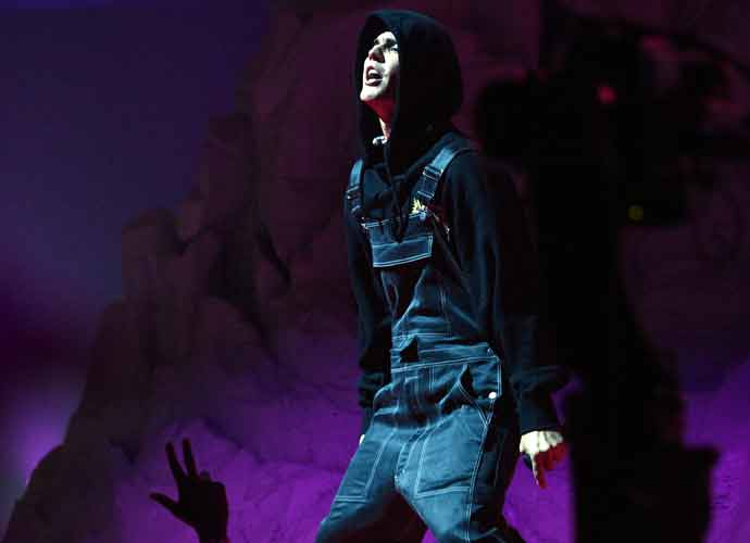 Justin Bieber Returns To The Stage At The VMA Awards