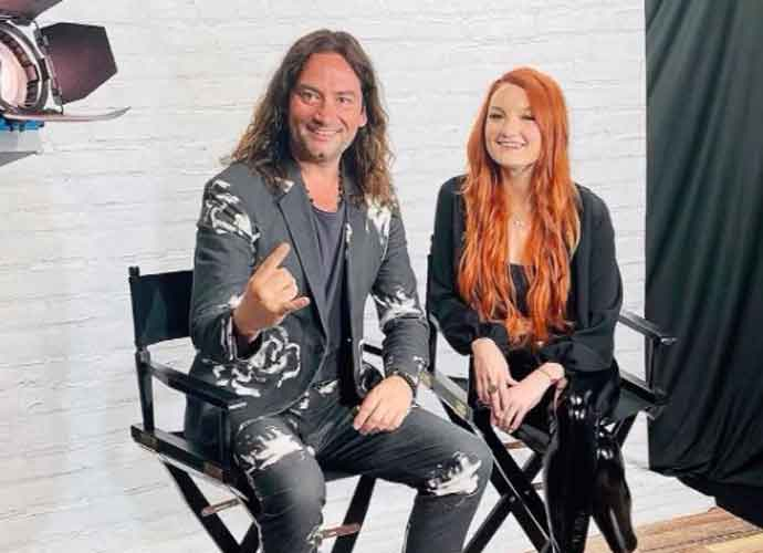 """VIDEO EXCLUSIVE: Kendra Erika On Why She Loved Working With Constantine Maroulis On """"As Long As Your Mine"""""""