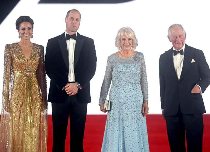 Royal Double Date At 'No Time To Die' Red-Carpet Premiere