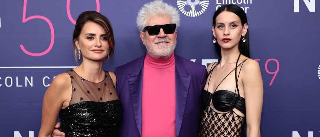 Pedro Almodóvar, Penélope Cruz & Milena Smit Attend 'Parallel Mothers' Premiere At New York Film Festival