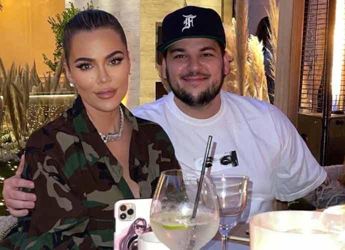 Rare Photo Of Rob Kardashian Shared By Sister Kim Kardashian