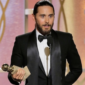 Jared Leto Golden Globes Acceptance Speech: Reveals Waxing For The Role, Forgets To Thank Matthew McConaughey