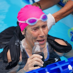 Diana Nyad Raises Money For Sandy Victims With Swim For Relief Benefit