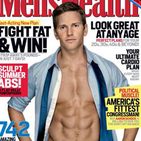 Congressman Aaron Schock Flaunts Abs For 'Men's Health'