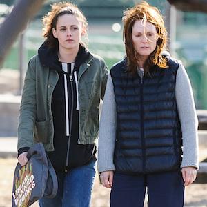 Kristen Stewart And Julianne Moore Film Scenes For 'Still Alice' In Harlem