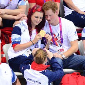 Prince Harry Congratulates Paralympian