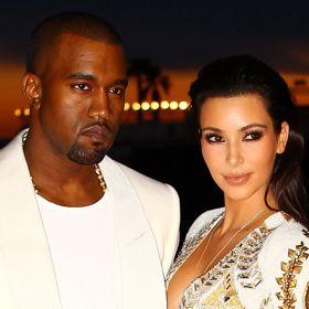 Kim Kardashian, Kanye West Baby Photos Fake; Not North West