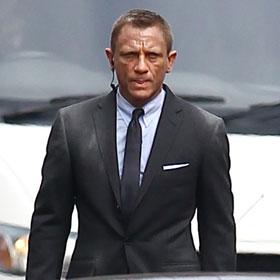 Daniel Craig Shoots 'Skyfall' In London