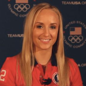 EXCLUSIVE VIDEO: U.S. Olympic Gymnast Nastia Liukin Talks Olympic Diet, Training