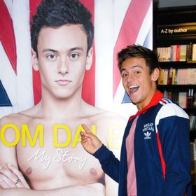 Tom Daley Fans Mob Book Signing